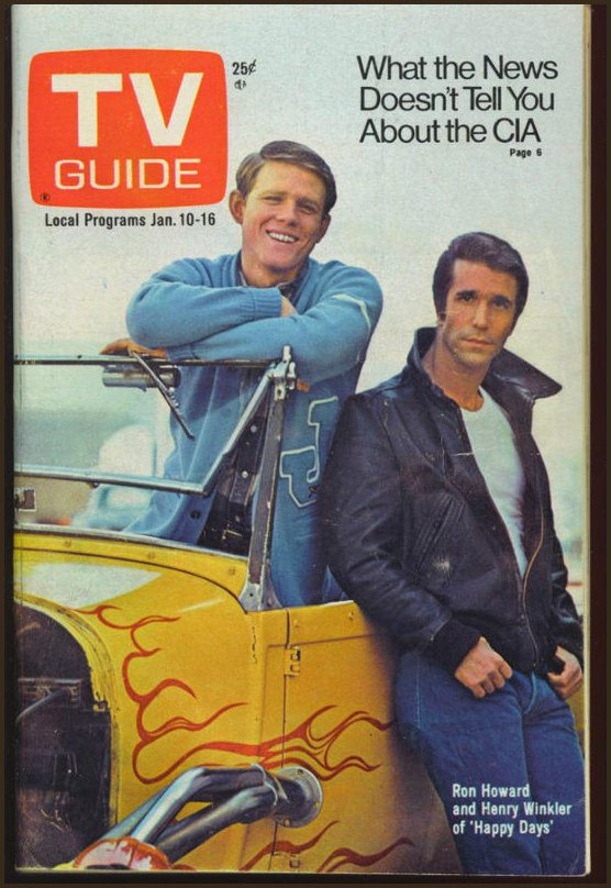 tv guide Fonzie